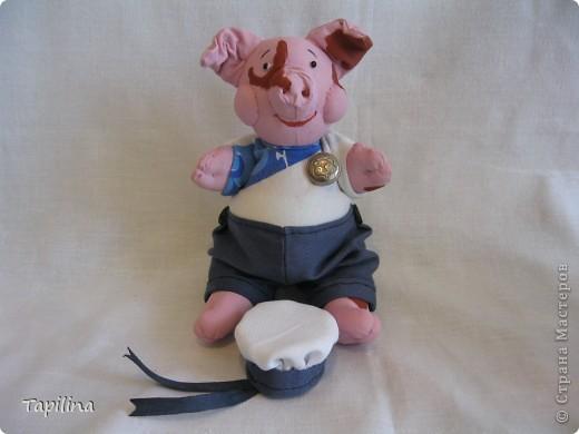 Свинка Ненила  Сыночка хвалила: -То-то хорошенький, То-то пригоженький - Ходит бочком, Уши торчком,  Хвостик крючком,  Нос пятачком!  фото 5