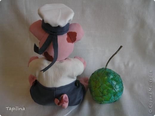 Свинка Ненила  Сыночка хвалила: -То-то хорошенький, То-то пригоженький - Ходит бочком, Уши торчком,  Хвостик крючком,  Нос пятачком!  фото 6