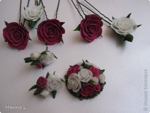 Вот такие получились цветочки неизвестной породы,ждут своего часа,пока еще не решила каким будет букет. фото 3