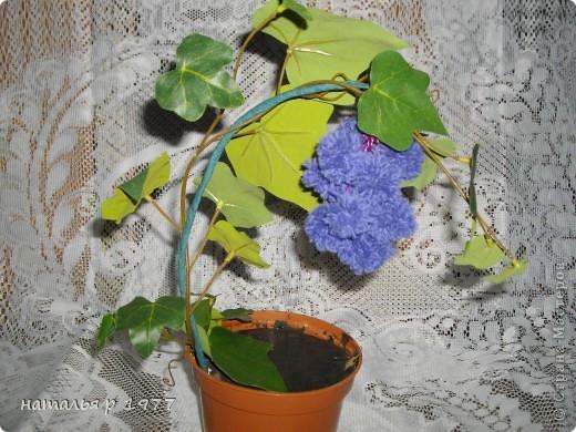 Цветочек с гусеничкой фото 5