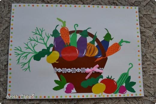 """Делала аппликации в детский сад на тему """"Урожай"""".  Фрукты и ягоды получились вот такими.  фото 2"""