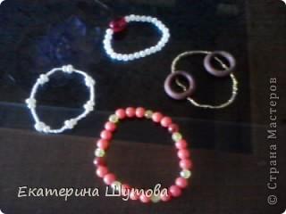 у меня вышла целая коллекция браслетов!!! фото 1