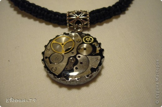 Украшение Ожерелье в стиле стим-панк Бусинки Материал бросовый Пластика фото 2.