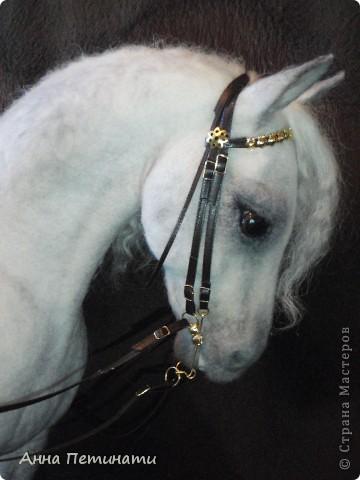"""Конь -сухое валяние""""Орловец"""" фото 1"""