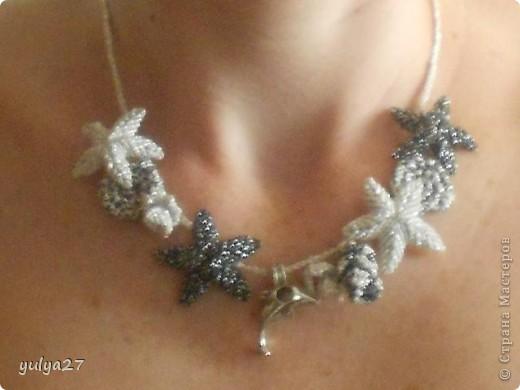 Вот такие вот кулоны плела на подарки))) фото 6