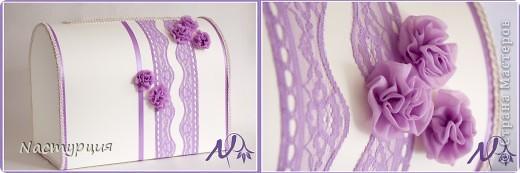 И снова кружево, атласные ленты и текстильные цветы. Материалы уже привычные и любимые, но получились совсем другие работы. фото 3