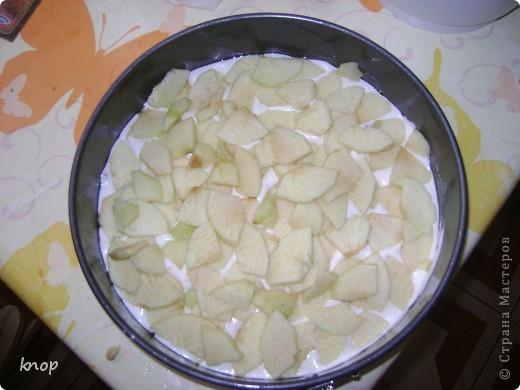 Всем привет!!!! вчера моей дочурки исполнился годик. В честь этого я испекла  шарлотку. Вкусную, нежную и ароматную! И предлагаю Вам ее попробовать.  Нам понадобится: Стакан муки, стакан сахара, 5 яиц, 2 яблока(на фото 3 яблока-думала 3 использовать, а в итоге 2), апельсин, щепотка ванилина, форма, миксер  фото 10
