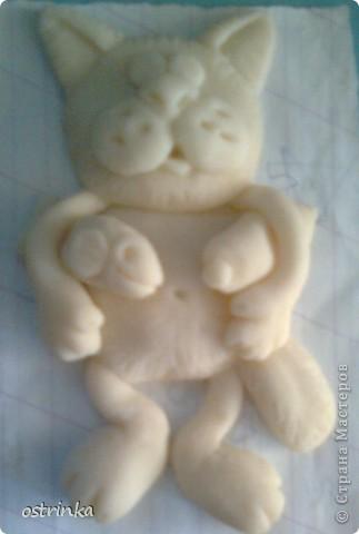 Долго любовалась на великолепных котиков из рук Марины Архиповой http://stranamasterov.ru/node/86293. Захотелось сделать что-то похожее.  фото 6