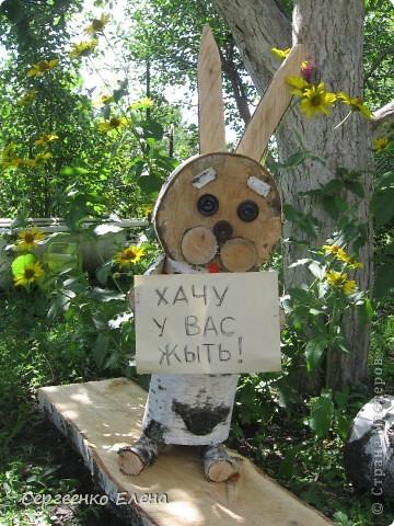 Заяц своими руками с сад 439
