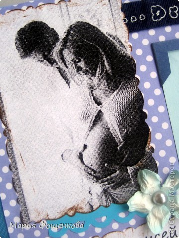Ну вот наконец то решилась выложить фото детского альбома, который я делала для мальчика Алексея. Делала я его еще до Нового года, но все руки не доходили Вам его здесь показать.  Размер альбома 20 на 20 см. 7 листов Фото оч много, так что терпения Вам))) фото 4