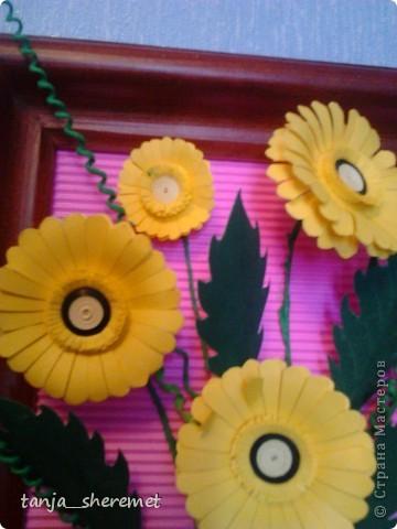 Добрый вечер мастерам СМ! Хочу поделится своими желтими  ромашками. Вот такие чудные они у меня получились! фото 2