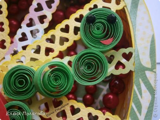 Близится осень, пора сбора урожая...  Фрукты, овощия, ягоды...  Все очень вкусное и полезное. Вот и один из таких замечательных даров природы - ЯБЛОКО!!!  вдохновил меня на создание ажурной чудо-шкатулки  фото 5
