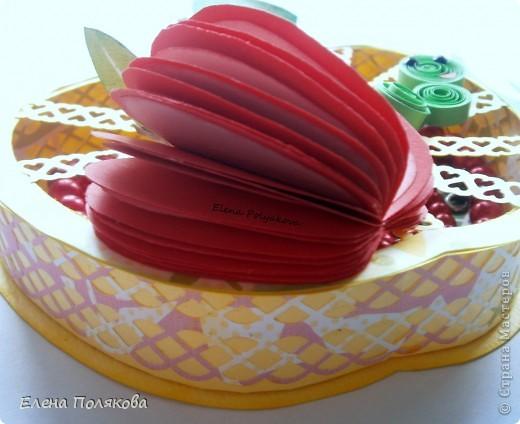 Близится осень, пора сбора урожая...  Фрукты, овощия, ягоды...  Все очень вкусное и полезное. Вот и один из таких замечательных даров природы - ЯБЛОКО!!!  вдохновил меня на создание ажурной чудо-шкатулки  фото 4