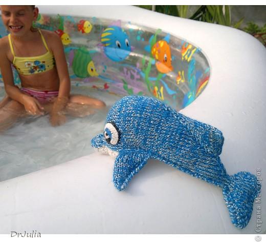 Вот такого дельфинчика связала я для своей дочки. Спасибо Irina-Iriss за подробное описание вязания http://www.liveinternet.ru/users/irina-iriss/post203491963 фото 4