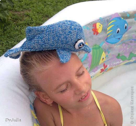 Вот такого дельфинчика связала я для своей дочки. Спасибо Irina-Iriss за подробное описание вязания http://www.liveinternet.ru/users/irina-iriss/post203491963 фото 5