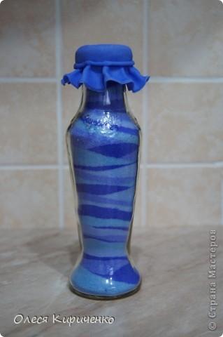 """Здравствуйте, мастера и мастерицы! Вот решила попробовать сделать """"насыпушки"""", вроде получилось) Почти радуга, тольго голубой бутылочки не хватает... фото 3"""