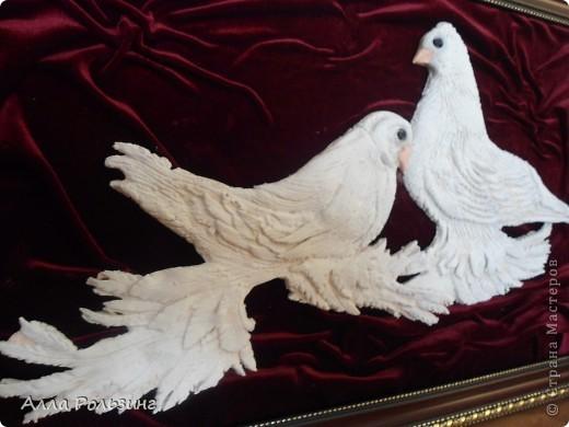 Моя первая работа на заказ. Заказчик большой любитель голубей. Да еще и попросил особую породу вылепить - Бойные голуби. Я их и в глаза -то никогда не видела))) Спасибо интернету) Вот что у меня получилось. фото 3