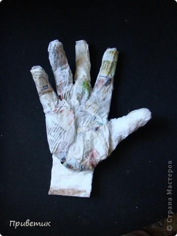 Вот сделала еще одну руку! фото 14