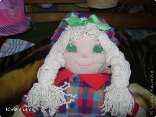 Шить новых кукол некогда,вот решила свои старые игрушки показать. Это ещё один вариант Женькиной жужи.В продаже их небыло,но уж очень хотелось. фото 4
