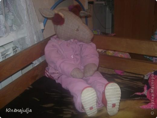 Шить новых кукол некогда,вот решила свои старые игрушки показать. Это ещё один вариант Женькиной жужи.В продаже их небыло,но уж очень хотелось. фото 5