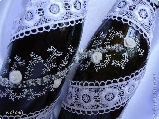 Вот так мне заказали оформить шампанское и бокалы фото 5