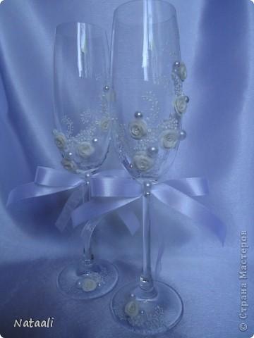 Вот так мне заказали оформить шампанское и бокалы фото 4