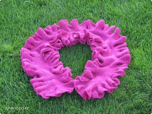 Летний шарф. Ширина - 45 см, длина - 205 см. фото 4