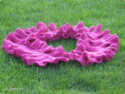 Летний шарф. Ширина - 45 см, длина - 205 см. фото 5