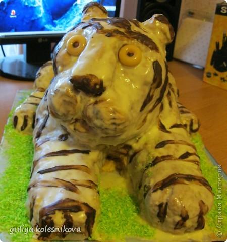 Вот такой тортик я решила сделать своему сынульке на день рождения.   Мастер класс здесь  http://forum.say7.info/post808847.html#808847 фото 1