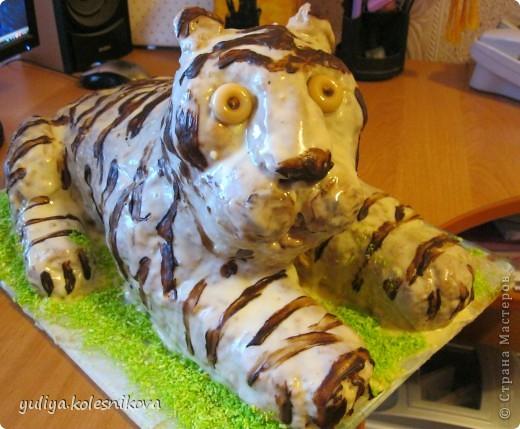 Вот такой тортик я решила сделать своему сынульке на день рождения.   Мастер класс здесь  http://forum.say7.info/post808847.html#808847 фото 2