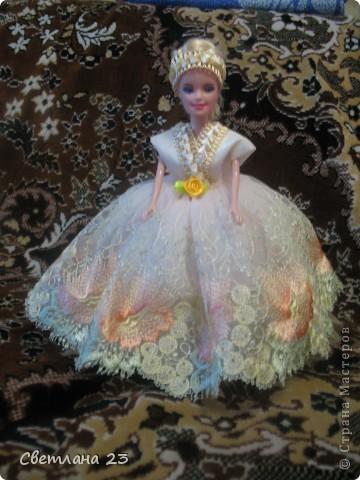 Увидев однажды куклы-шкатулки я была поражена их оригинальностью, долго не могла решиться, да и времени не хватает вечно, но вот однажды попробовала и ..... вот что у меня получилось. фото 5