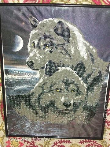 """картина """"Волки"""" фото 2"""