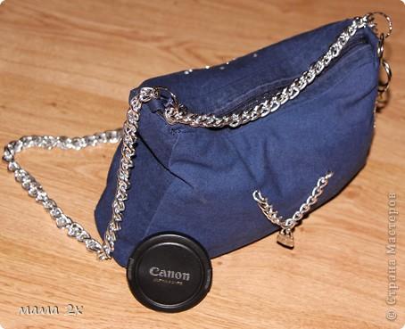моя первая сумочка из старого джинса Для любимой племяшки! фото 4