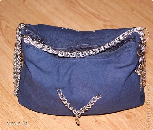 моя первая сумочка из старого джинса Для любимой племяшки! фото 1