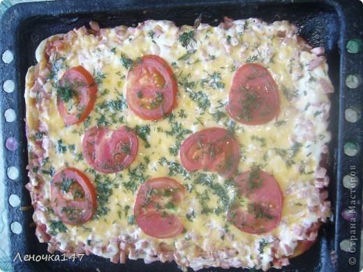 моя первая пицца) делала с нуля) сама) фото 1
