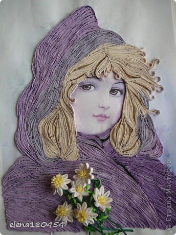"""Девушка с букетом"". фото 2"