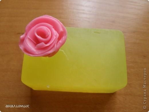 Цветок сделан по мастер-классу, найденому на просторах интернета фото 5