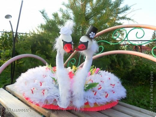День добрый... Вот такие лебеди у меня получились.... фото 1