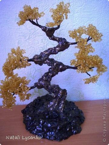Дерево с бисера в восточном стиле фото 2