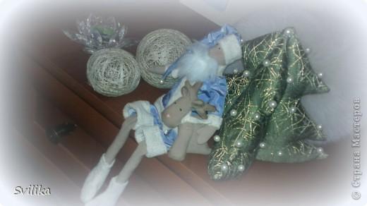 Они такие разные получились))) Голубенький с кофейным оленем пошился для дома) фото 2