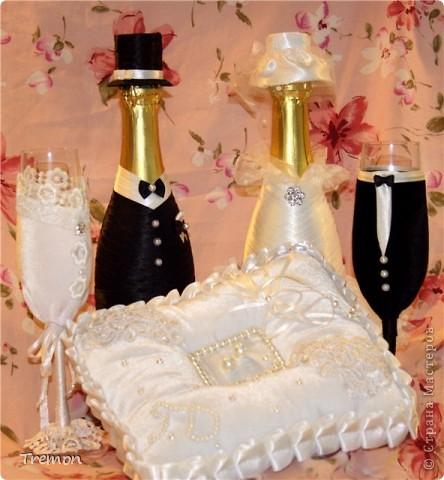Благодаря мастерам Страны Мастеров родились мои свадебные первенцы. фото 1