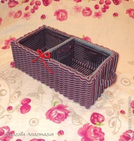 Я её слепила из того,что было!))))бывшая коробка из под обуви. фото 1