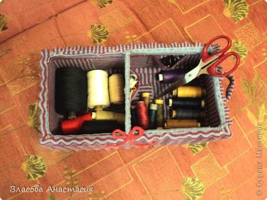 Я её слепила из того,что было!))))бывшая коробка из под обуви. фото 3