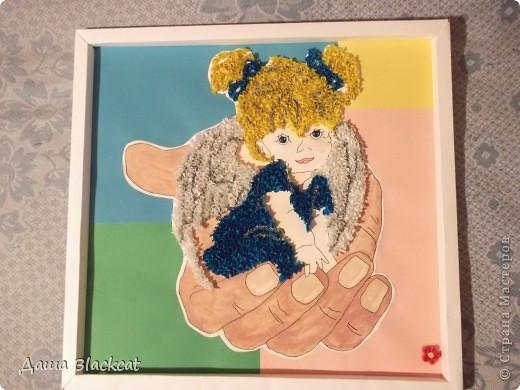 Подарок одной замечательно женщине, которая коллекционирует ангелочков. Такого у нее еще нет)