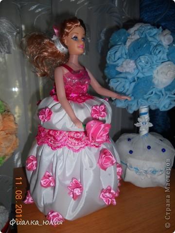 Вот такая шкатулка вышла на этот раз. Заказ был сделать шкатулку в белом цвете, с розовыми цветами. фото 2
