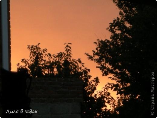 Вот такие закаты бывают в моём городе в ясную погоду... фото 5