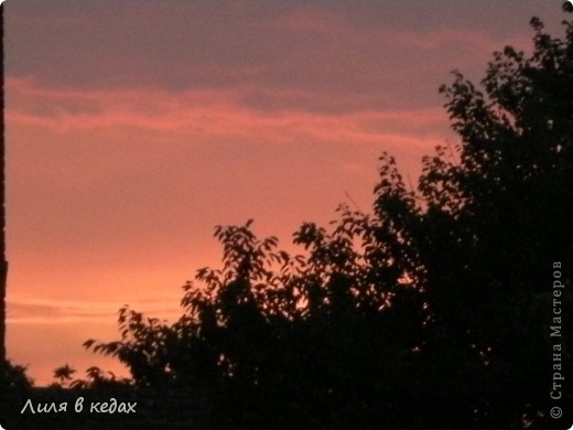 Вот такие закаты бывают в моём городе в ясную погоду... фото 7