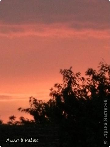 Вот такие закаты бывают в моём городе в ясную погоду... фото 8