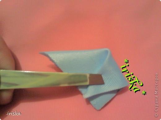 Мастер-класс Поделка изделие Украшение Цумами Канзаши МК лепесток Шиловидный флокс Ленты Ткань фото 4
