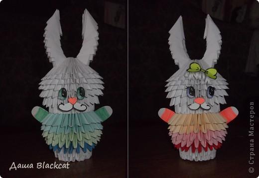 ... но это заяц-гермафродит.) с ушами похожими на рожки.)  у всех творческих людей свои странности..)